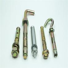 Fix Bolt With Hook Carbon Steel Wedge Hook Anchor Bolt