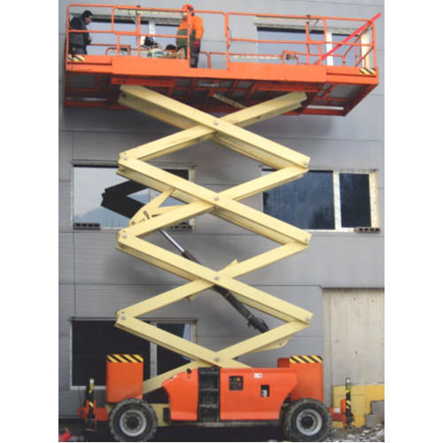 Scissor Lift Rental Service - ARIHANT LIFTERS, Mohmaddi Building No