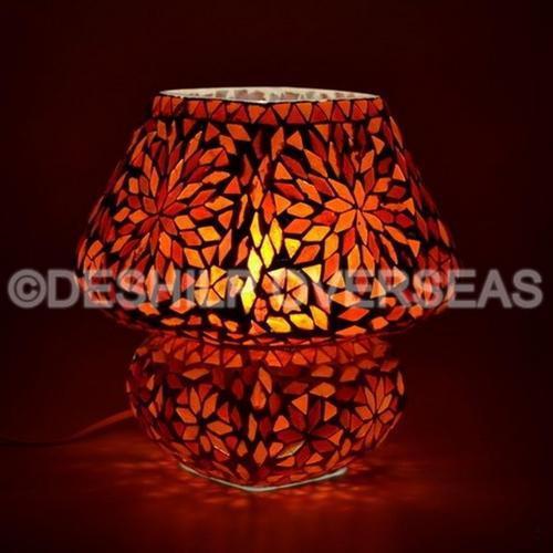 Standard Glass Popular Mosaic Table Lamp