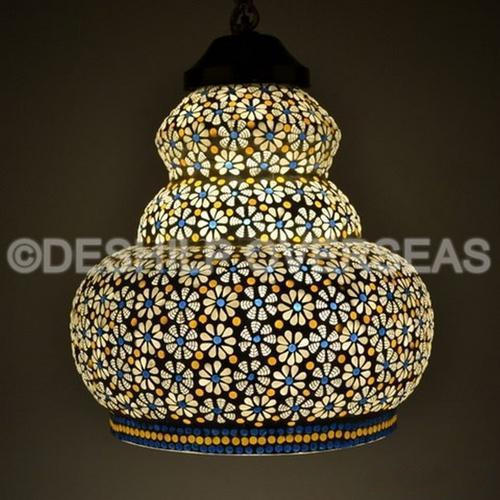 Standard Mosaic Hanging Light