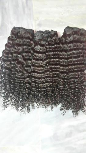 Black Curly Human Hair