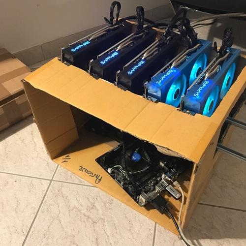 370 MH/s 12 Sapphire Radeon NITRO RX 580 8GB SE GPU Mining