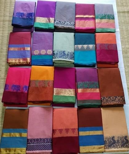 cad688926a 60s Count Chettinad Cotton Sarees - Palani Andavar Cloths, Jakkampatti,  Theni,, Chennai, India
