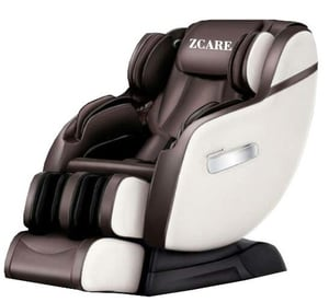 4D Zero Gravity Massage Chair with Real Super Long SL Track