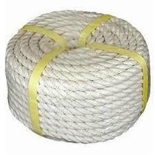 White Color PP Multifilament Ropes