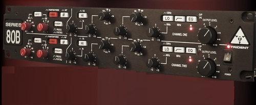 Trident Audio Series 80B Dual Channel Amplifier Certifications: Yes