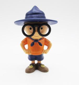 Decorative Polyresin Figurine With Big Hat