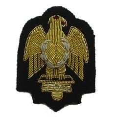 Embroidered Royal Arm Badge