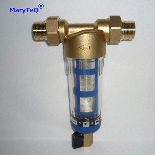 Stainless Steel Mesh Brass Pre Water Filter System