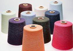 Spun And Dyed Polyester Yarn