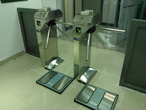 Esd Turnstile Controlled Entry System