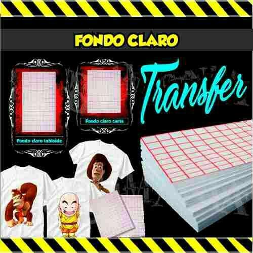 Light Inkjet Transfer Paper
