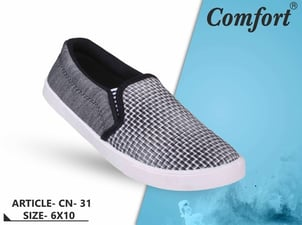 Woven Mens Casual Shoes