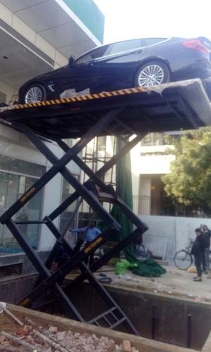 Industrial Hydraulic Scissor Car Lift