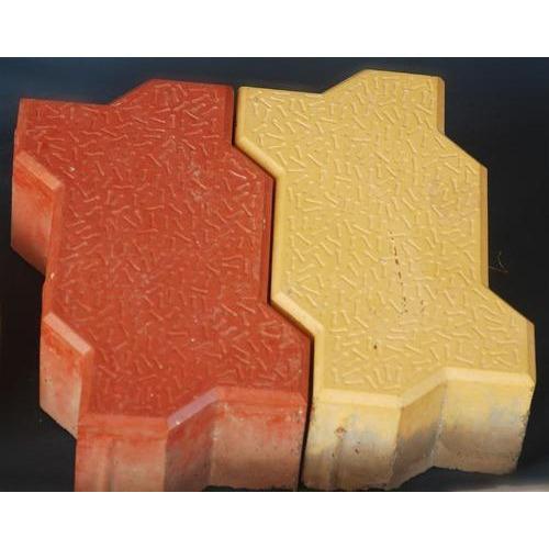 Zigzag Concrete Paver Blocks