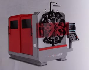 Industrial Spring Forming Machine