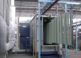 Industrial Powder Coating Plants