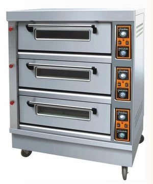 Semi And Automatic Deck Oven