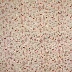 Cotton Jaipuri Hand Block Printed Fabric