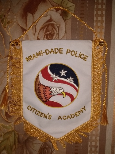Custom Hand Embroidered Banners 8.5 X 6.5 Size