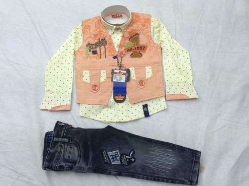 Kids Ethnic Jacket Suits