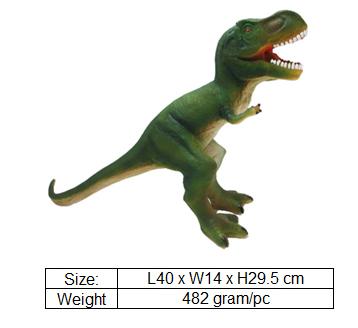 Plastic Toy Dinosaur Model For Theme Park Gift