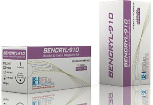 Bencryl 910 For Subcuticular Closure And Soft Tissue