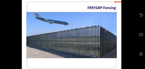FRP / Grp Security Fencing