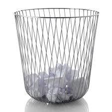 Heavy Quality Waste Paper Basket