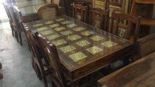 Pure Sheesham Wood Dining Set