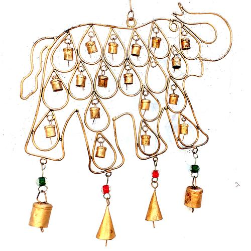 Elephant Iron Hanging Bells