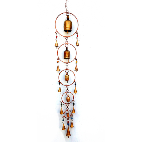 Wrond Iron Hanging Bells