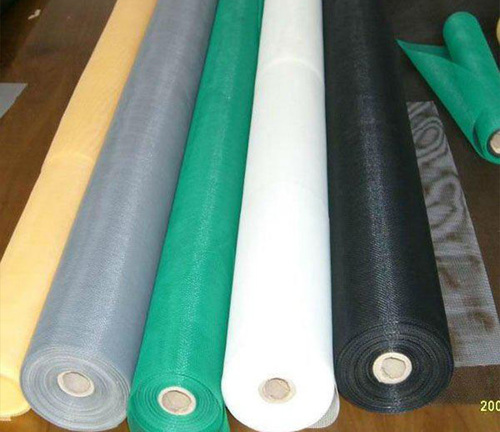 Coloured Fiberglass Window Screen Application: Residential and Commecial Buildings