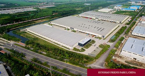 ESR Asia Leading Redwood Warehouse