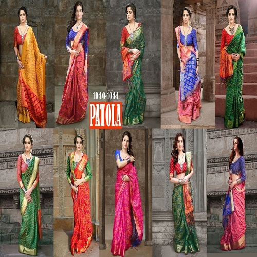 New Designer Banarasi Patola Saree