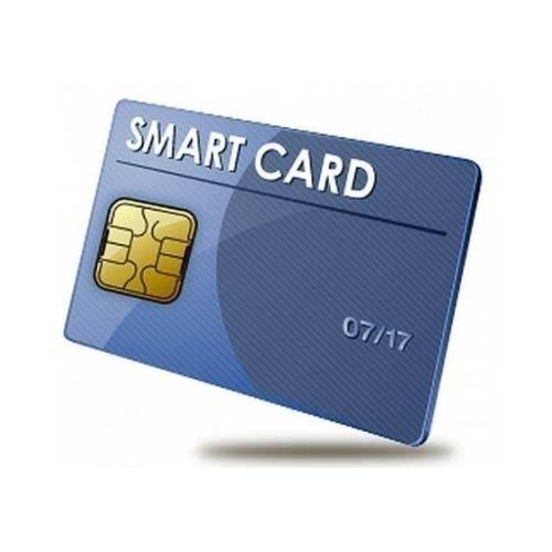 Plastic Rectangular Contact Smart Card