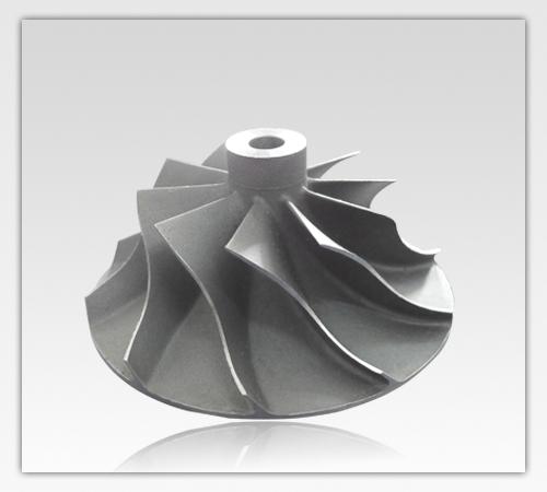 Precision Machining Investment Casting Titanium Compressor Wheel