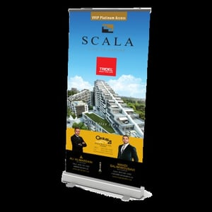 Roll Up Banner Stand Service