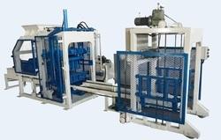 Semi Automatic Block Machine With Stacker