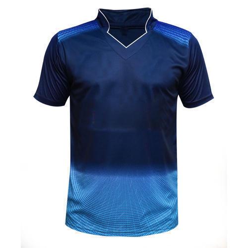 Dark Blue Football Jersey