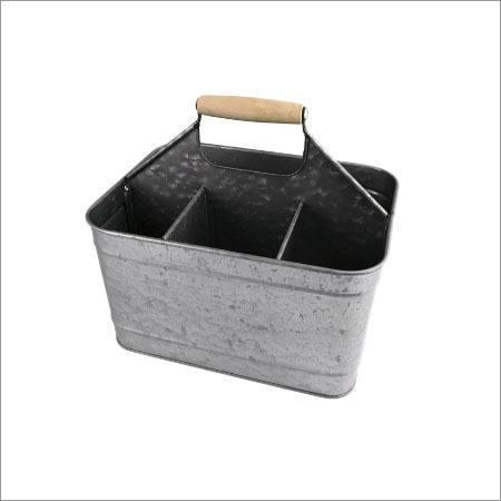 Galvanized Garden Baskets