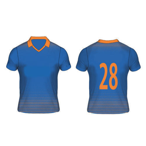 Half Sleeve Designer Sports Jersey