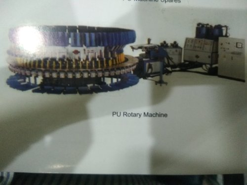 Used PU Rotary Machine for Footwear Industries