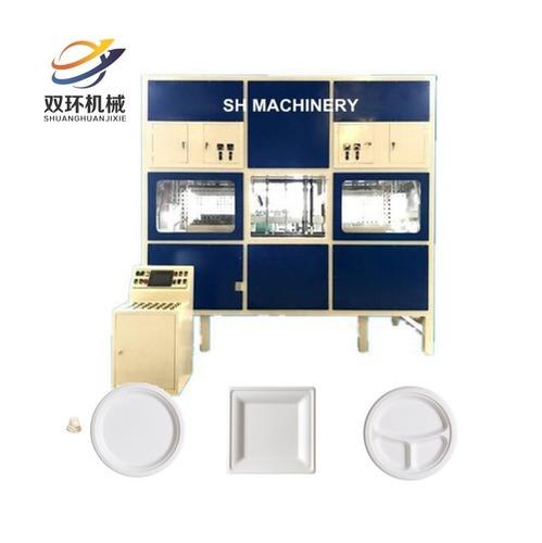 Biodegradable Tableware/ Lunch Box Making Machine