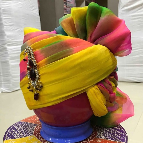 Multi Colour Cotton Safa