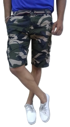 Mens Stylish Camouflage Shorts