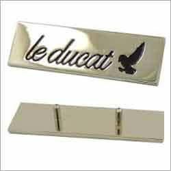 Custom Logo Metal Plate