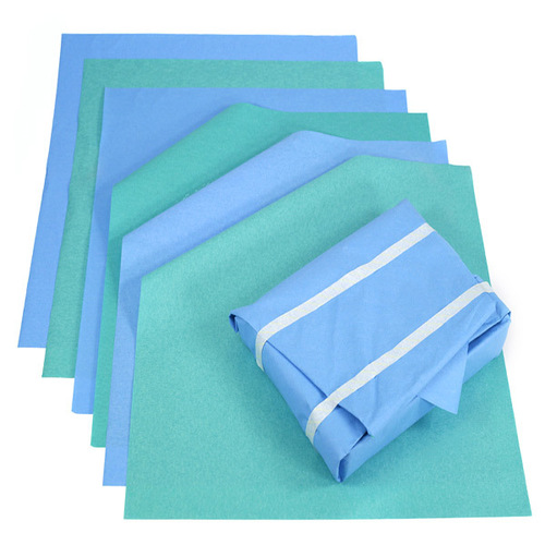 Blue Autoclave Sms Wrapping Sheets
