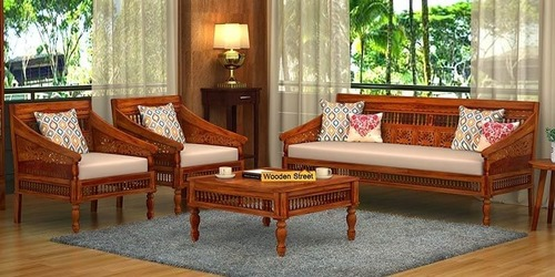 High Quality Wooden Sofa