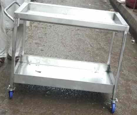 Industrial Stainless Steel Trolley